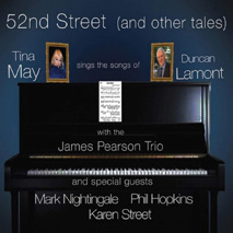 Review of Tina May: 52nd Street (and Other Tales): Sings the Songs of Duncan Lamont