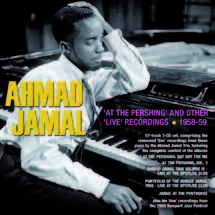 Review of Ahmad Jamal: At the Pershing and Other 'Live' Recordings, 1958-59